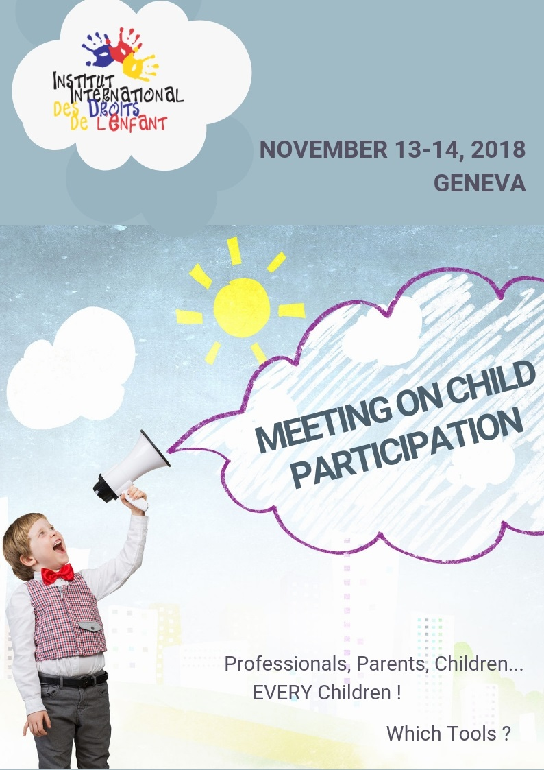 Meeting on Child Participation - 13th and 14th November - Geneva