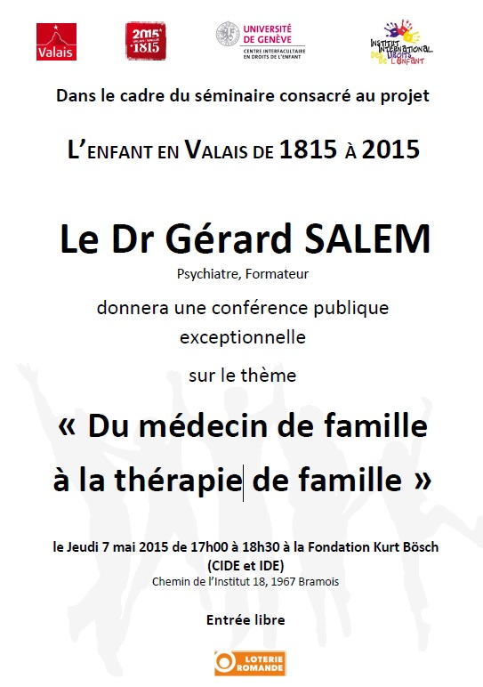 Conference publique de Gérard Salem