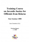 Training Course on Juvenile Justice for Officials from Belarus